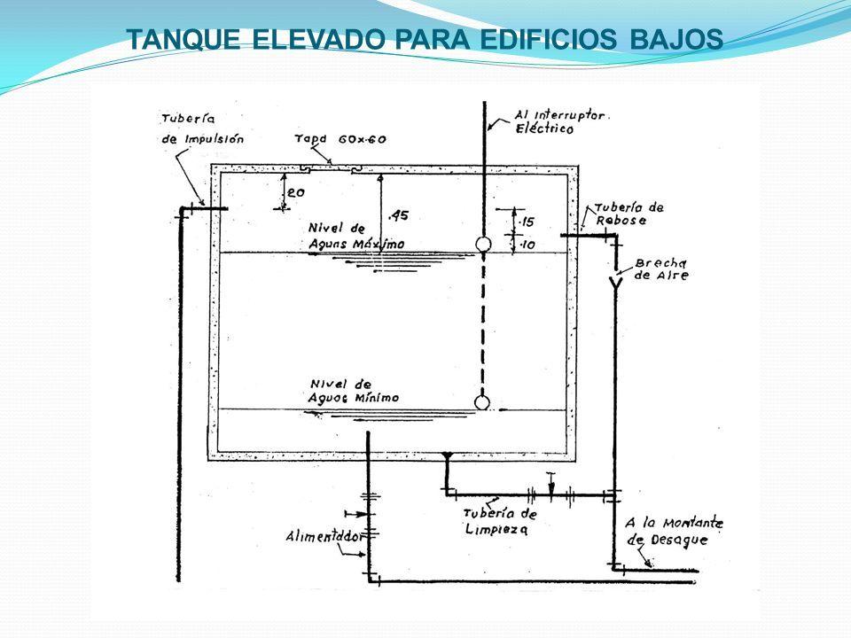 TANQUE ELEVADO PARA EDIFICIOS BAJOS