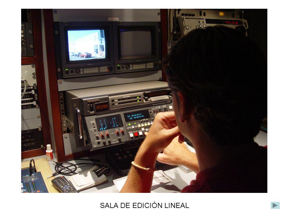 SALA DE EDICIÓN LINEAL