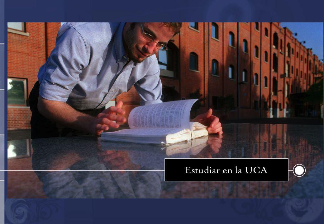 Estudiar en la UCA