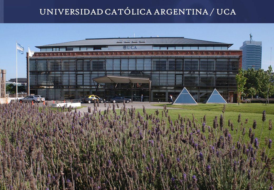 UNIVERSIDAD CATÓLICA ARGENTINA / UCA