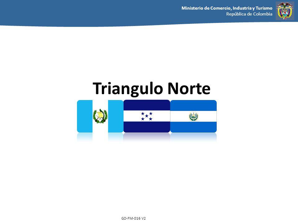 Ministerio de Comercio, Industria y Turismo República de Colombia GD-FM-016 V2 Triangulo Norte