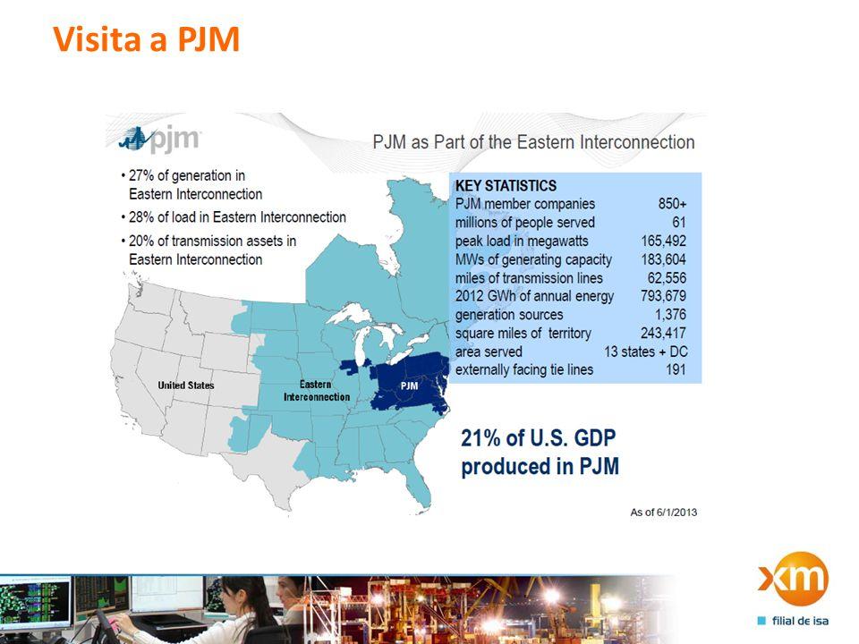 Visita a PJM