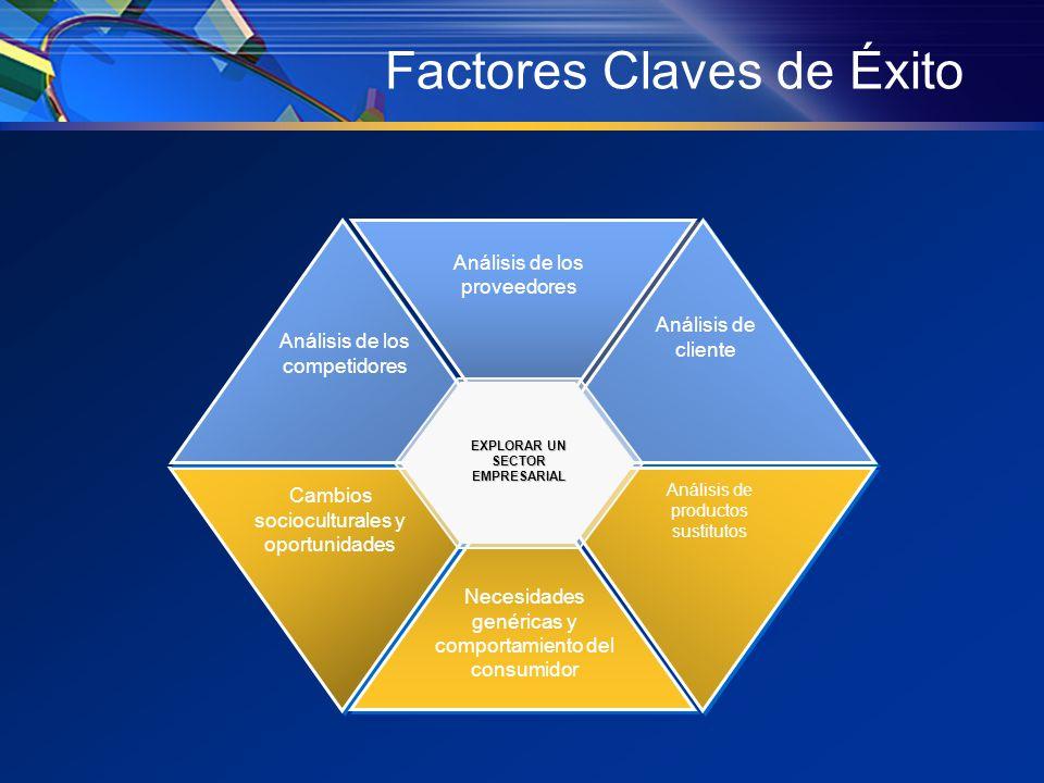 Debilidades de la competencia La ventana de oportunidades Cambios tecnológicos y nuevas propuestas Tendencias del mercado Expectativas, necesidades y