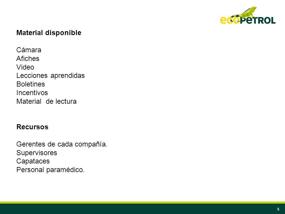 6 Lugar La campaña se debe desarrollar directamente en las obras y con cubrimiento al personal de las oficinas.