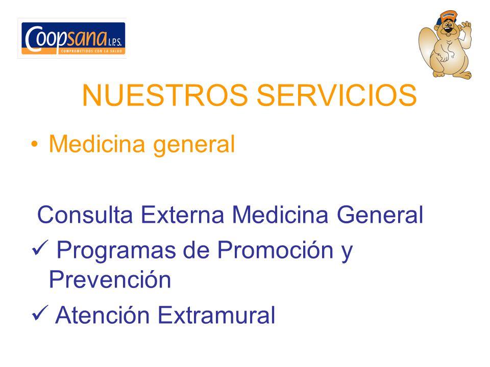 Consulta Especializada Cirugía General Cirugía Plástica Dermatología Ginecología y Obstetricia Medicina Interna
