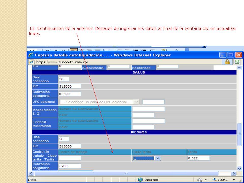 12. En esta ventana se registran todos los datos del trabajador para que así quede ingresado en la base de datos.