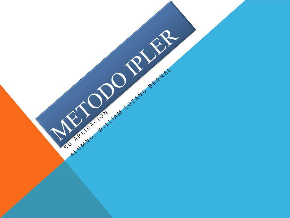 APLICACIÓN METODO IPLER 2 LA CONCENTRACION.DETERMINADA POR SENTIMIENTOS Y LA INTUICIÓN.