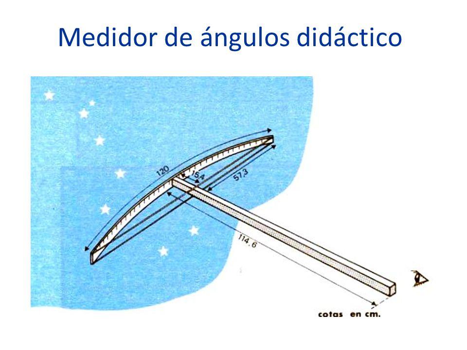 Medidor de ángulos didáctico