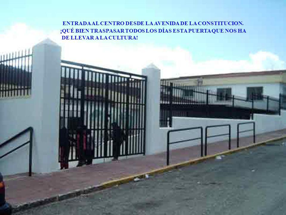 C.E.I.P. Ntra. Sra. Del Rosario BENAOJAN VAMOS A HACER UNA VISITA RÁPIDA POR LAS DEPENDENCIAS DEL COLEGIO