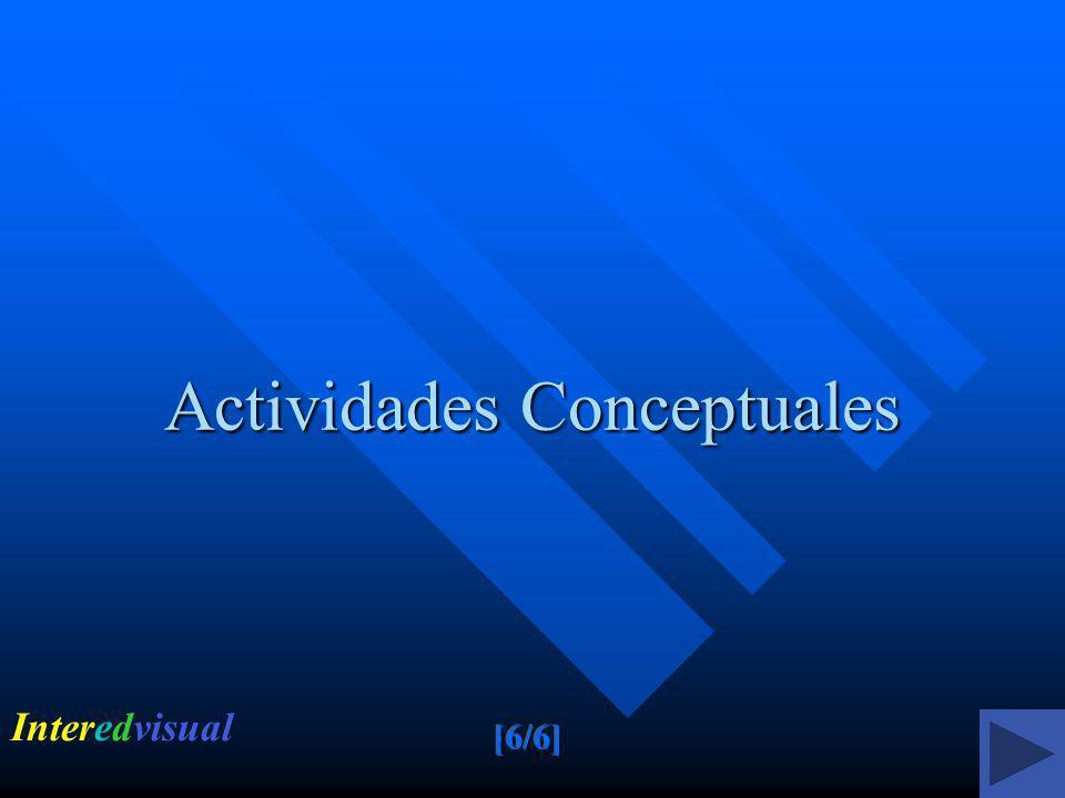 Actividades Conceptuales Interedvisual