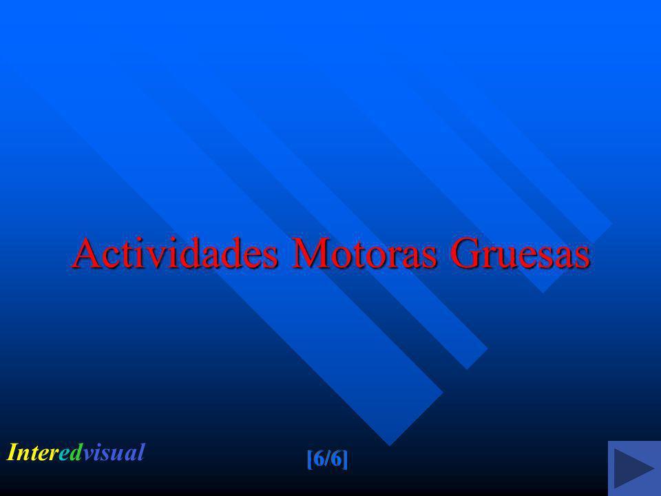 Actividades Motoras Gruesas Interedvisual