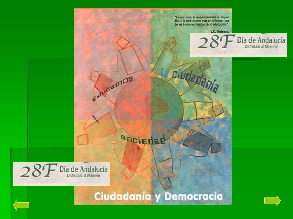 EL ESTATUTO DE AUTONOMÍA PARA ANDALUCÍA El estatuto de Autonomía es la ley suprema, después de la Constitución Española de 1978 y que determina el derecho de los andaluces a su autogobierno.