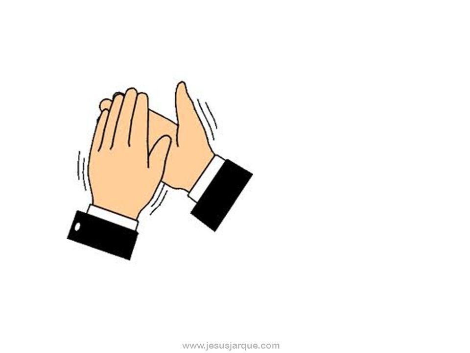 www.jesusjarque.com ACTIVIDAD 3º Cuando aparezca este dibujo, darás un PISOTÓN Cuando aparezca este otro, darás una PALMADA En el resto, NO HARÁS NADA
