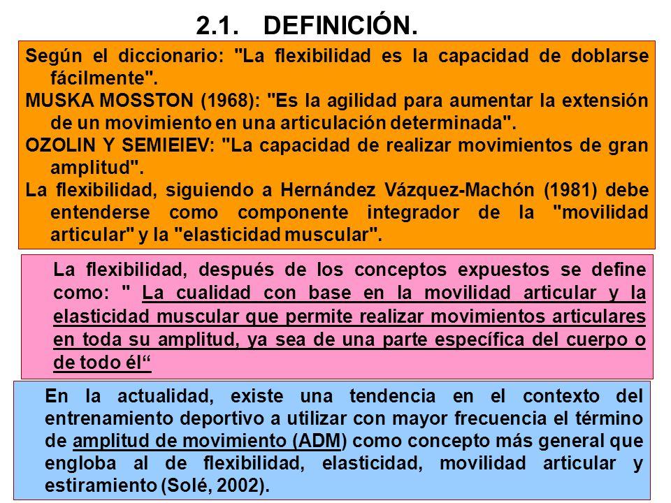 2.2.FACTORES QUE DETERMINAN LA FLEXIBILIDAD.FACTORES MECÁNICOS O INTRÍNSECOS.