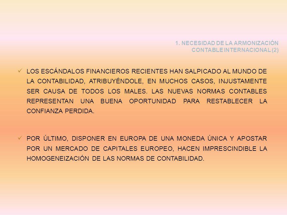 LOS ESCÁNDALOS FINANCIEROS RECIENTES HAN SALPICADO AL MUNDO DE LA CONTABILIDAD, ATRIBUYÉNDOLE, EN MUCHOS CASOS, INJUSTAMENTE SER CAUSA DE TODOS LOS MA