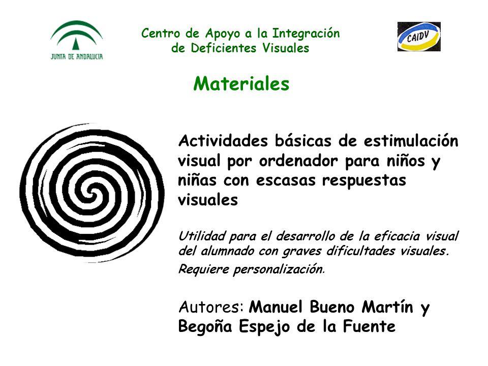 Centro de Apoyo a la Integración de Deficientes Visuales Materiales Estrategias metodológicas para el proceso enseñanza- aprendizaje de la escritura e