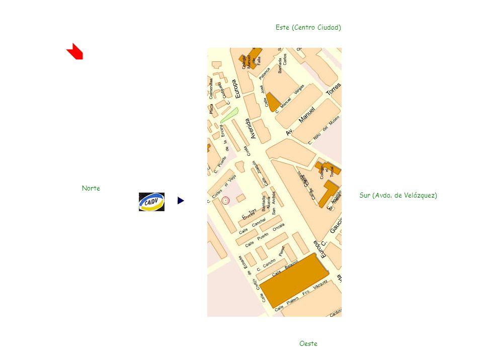 Centro de Apoyo a la Integración de Deficientes Visuales Hoyo Higuerón, 3 29003. Málaga. España Tfno.: +34 951 29 84 21 Tfno. para la Red Corporativa: