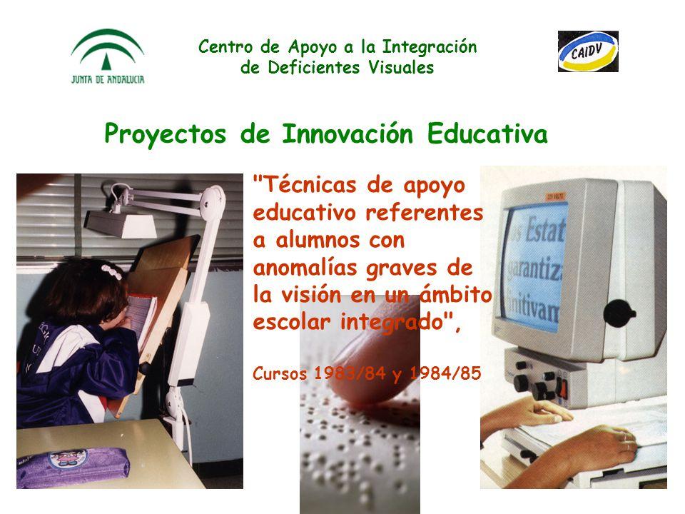 Centro de Apoyo a la Integración de Deficientes Visuales En la WWW IV Congreso Virtual INTEREDVISUAL sobre Atención Temprana y Discapacidad Visual 2 a