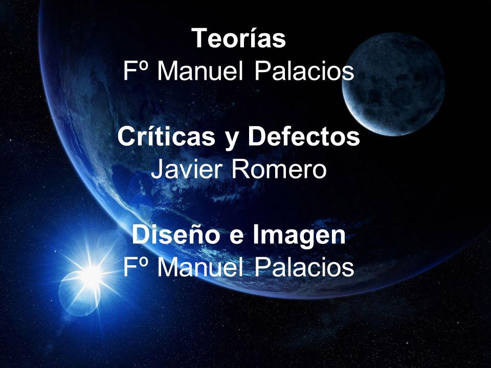 CRÉDITOS Biografía Andrés cobo Teorías Fº Manuel Palacios Críticas y Defectos Javier Romero Diseño e Imagen Fº Manuel Palacios FIN