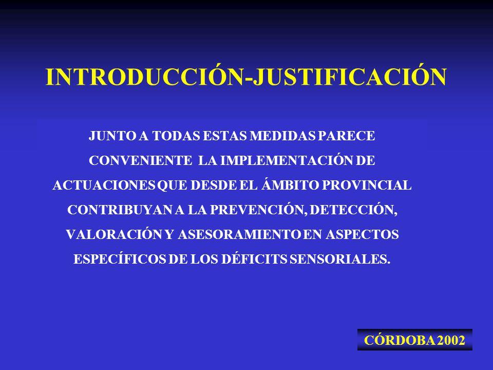 INTRODUCCIÓN-JUSTIFICACIÓN JUNTO A TODAS ESTAS MEDIDAS PARECE CONVENIENTE LA IMPLEMENTACIÓN DE ACTUACIONES QUE DESDE EL ÁMBITO PROVINCIAL CONTRIBUYAN