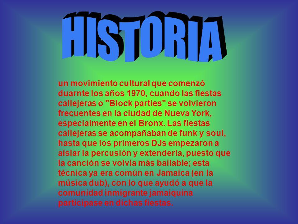 historia de la musica dance en espanol: