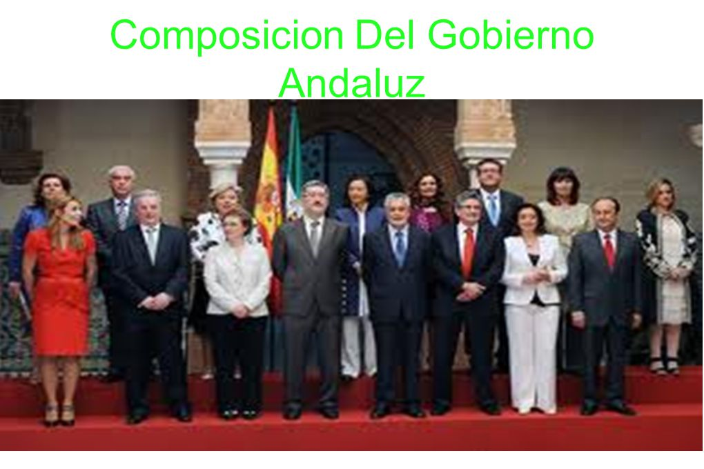 Composicion Del Gobierno Andaluz