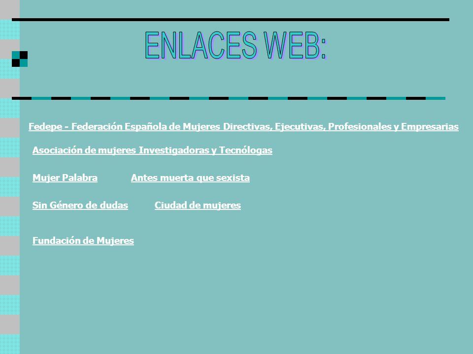 Antes muerta que sexista Fedepe - Federación Española de Mujeres Directivas, Ejecutivas, Profesionales y Empresarias Ciudad de mujeres Asociación de m