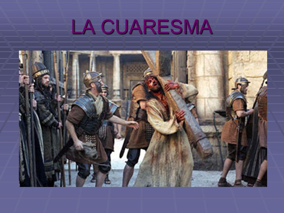 La Cuaresma es el tiempo que precede y nos dispone a la celebración de la Pascua.