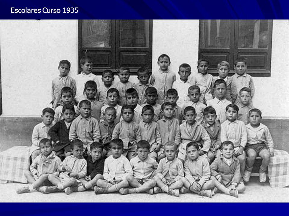 Escolares Curso 1935
