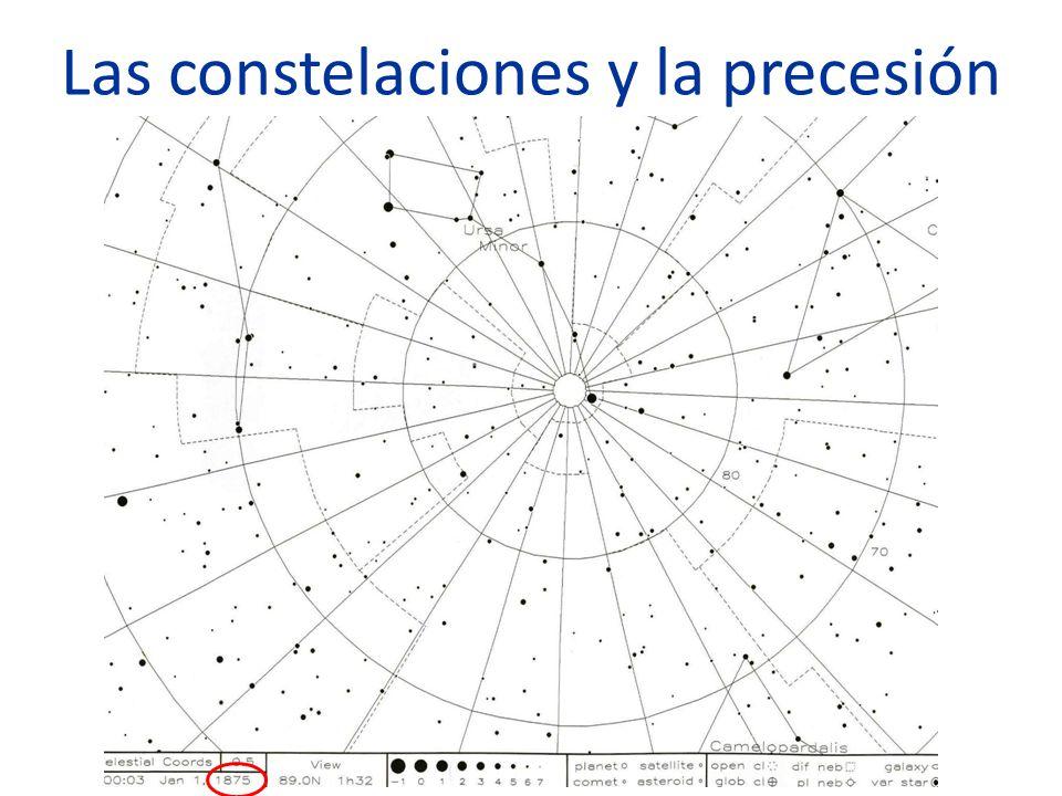Las constelaciones y la precesión