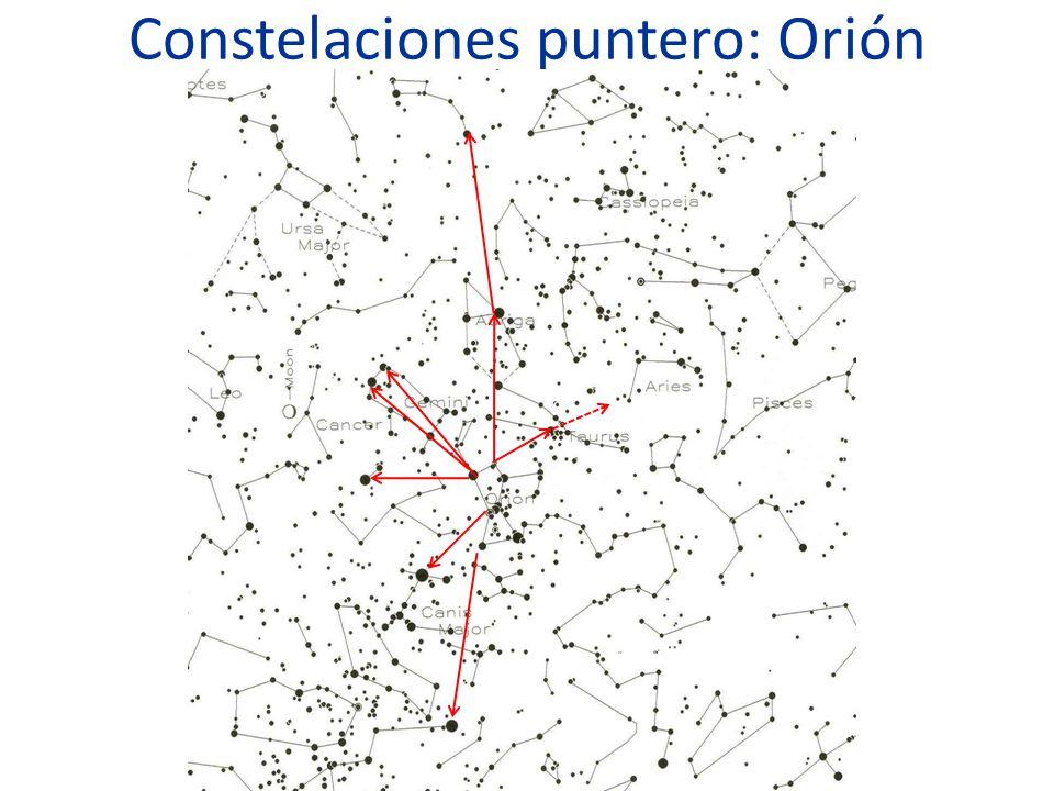 Las estrellas y las constelaciones.Clasificación según el brillo.