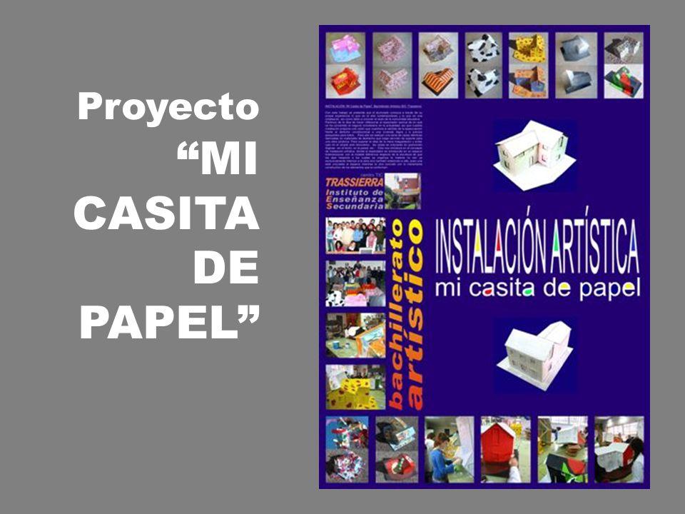 Proyecto MI CASITA DE PAPEL