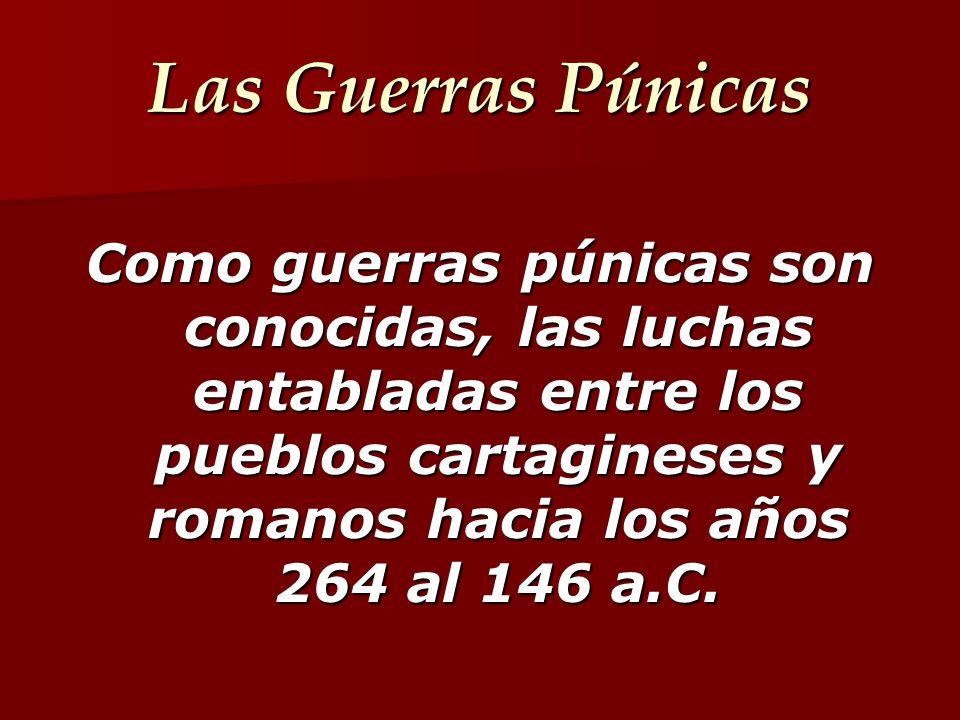 TERCERA GUERRA PÚNICA 149-146 a.C.