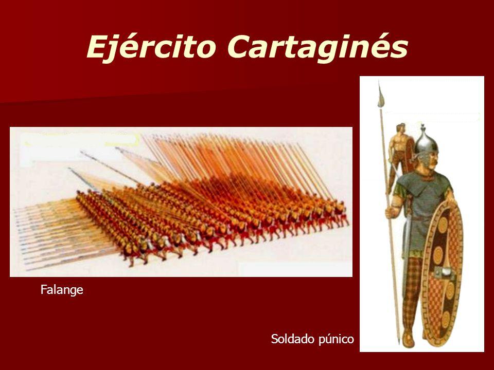 Ejército Cartaginés Falange Soldado púnico