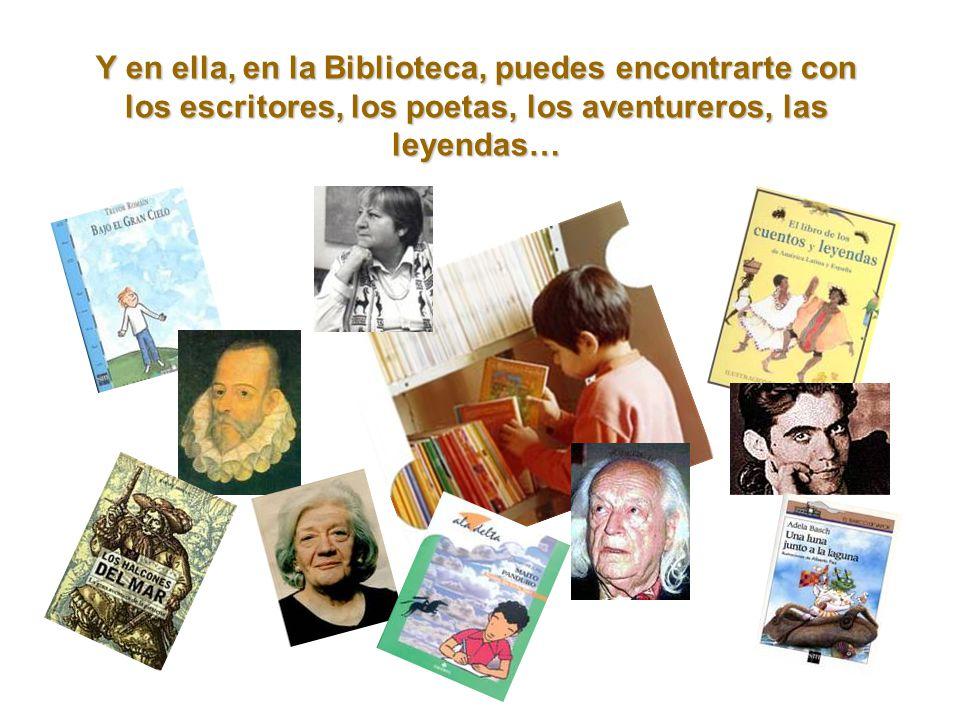 Los libros viven en un fantástico lugar llamado BIBLIOTECA.