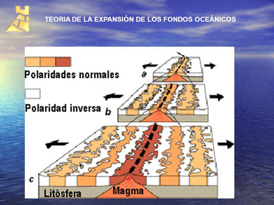 TEORIA DE LA EXPANSIÓN DE LOS FONDOS OCEÁNICOS