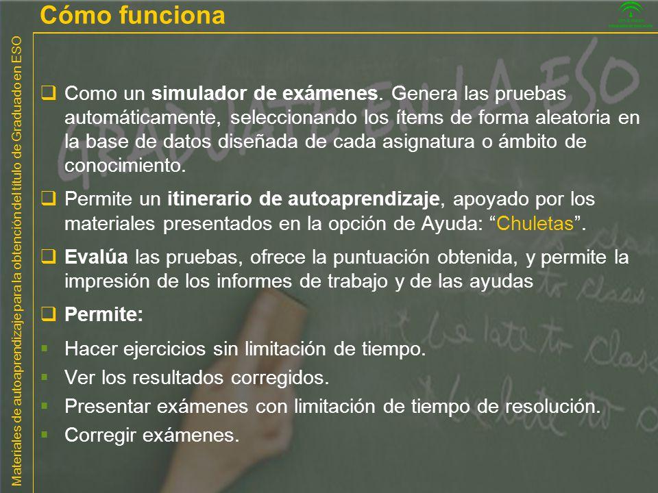 Materiales de autoaprendizaje para la obtención del título de Graduado en ESO Matemáticas 2.