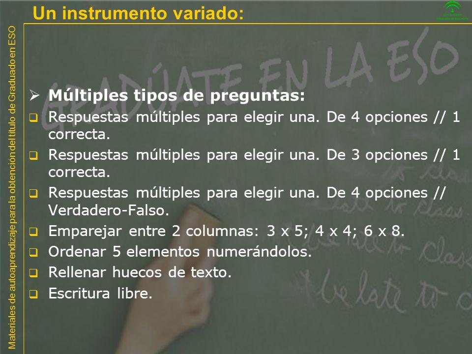 Materiales de autoaprendizaje para la obtención del título de Graduado en ESO Competencias básicas en el currículo español 1.