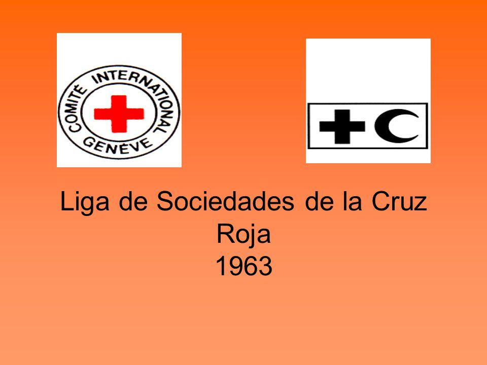 Liga de Sociedades de la Cruz Roja 1963
