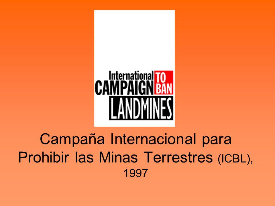 Campaña Internacional para Prohibir las Minas Terrestres (ICBL), 1997