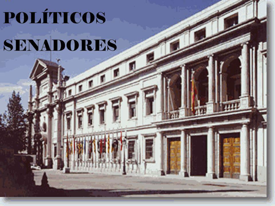 POLÍTICOS SENADORES