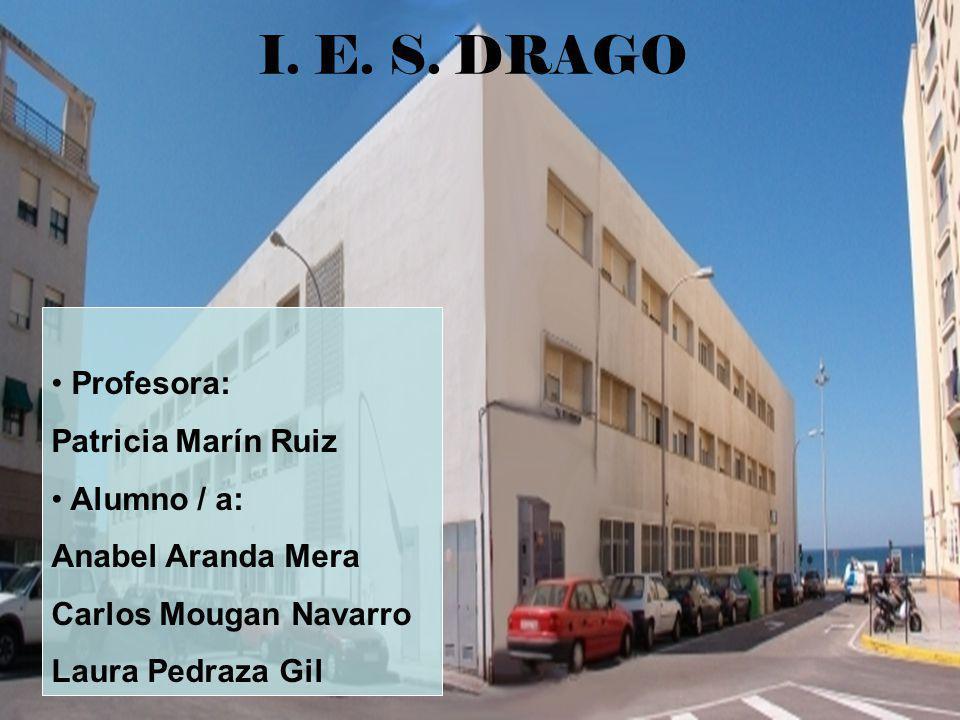 I. E. S. DRAGO Profesora: Patricia Marín Ruiz Alumno / a: Anabel Aranda Mera Carlos Mougan Navarro Laura Pedraza Gil