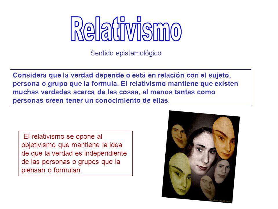 Hay varias razones que permiten comprender por qué muchos filósofos defienden el relativismo.