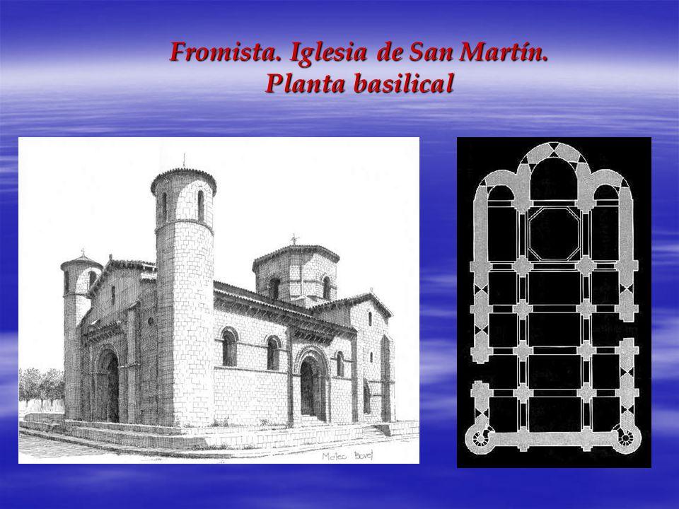 Fromista. Iglesia de San Martín. Planta basilical