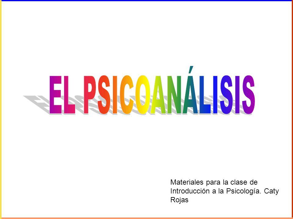 Materiales para la clase de Introducción a la Psicología. Caty Rojas