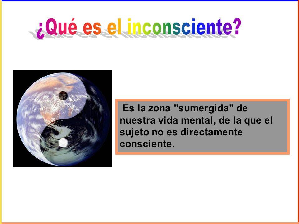 Los contenidos del inconsciente son deseos, fantasías sexuales y/o agresivas, que podrían hacerse conscientes(inconsciente latente) o no (inconsciente reprimido).