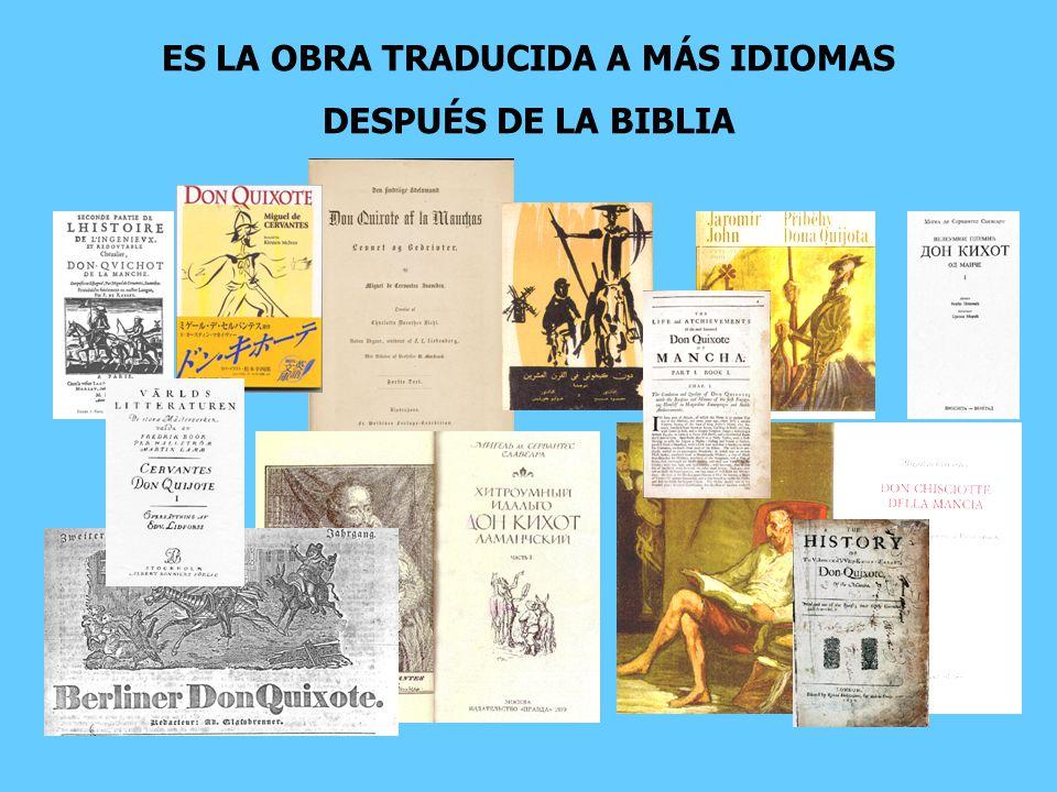 ES LA OBRA TRADUCIDA A MÁS IDIOMAS DESPUÉS DE LA BIBLIA