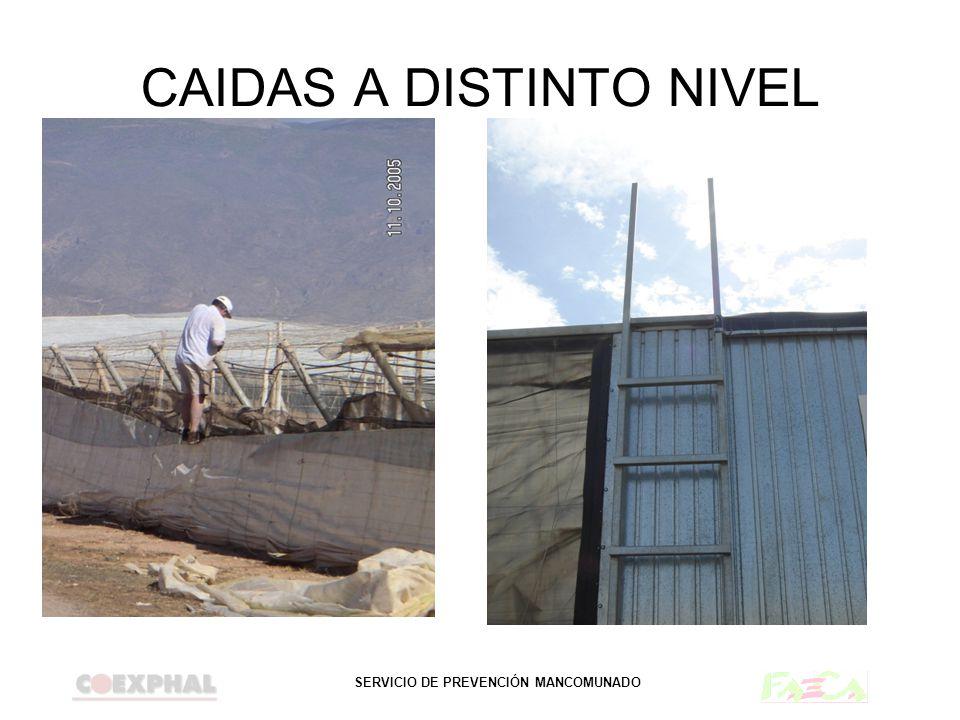 SERVICIO DE PREVENCIÓN MANCOMUNADO CAIDAS A DISTINTO NIVEL