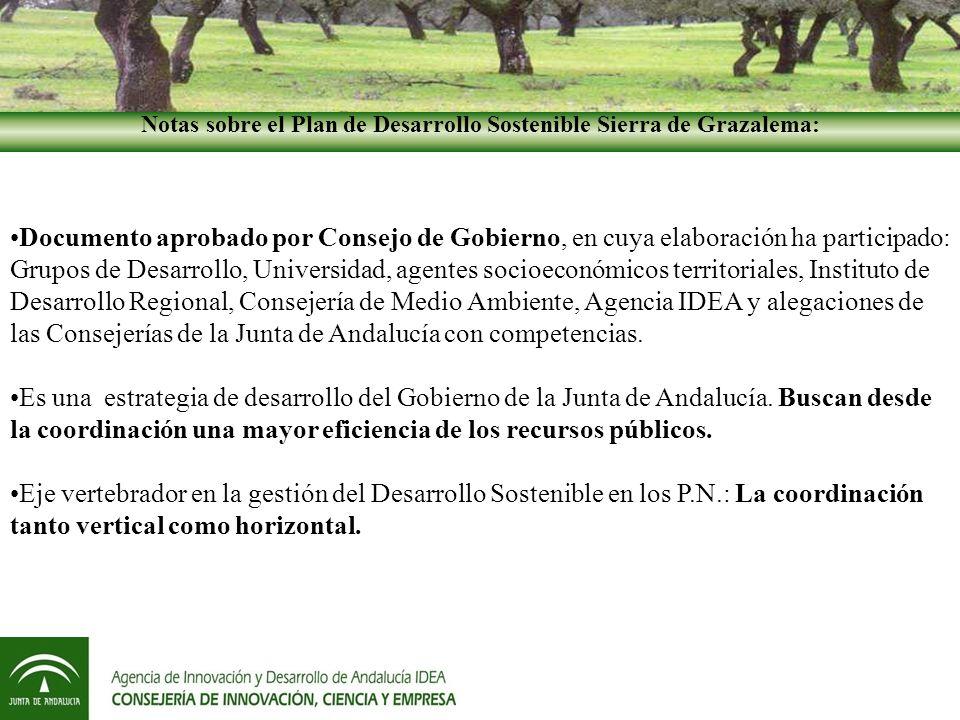 Planes de Desarrollo Sostenible de la provincia de Cádiz METODOLOGÍA -Ejemplos- Ejemplo 2: Una demanda no contemplada en el documento PDS, pero que surge de una circunstancia específica y una necesidad real del territorio, puede ser liderada por el Plan.