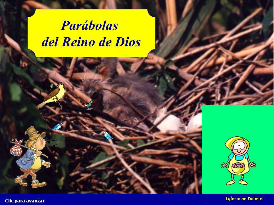 Iglesia en Daimiel Clic para avanzar El grano de mostaza Mt 13, 31-32 El grano de mostaza Mt 13, 31-32 ¿Qué hay en el mundo más mal o más bien.